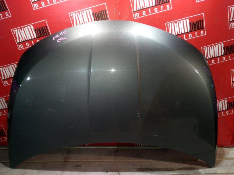 Капот Nissan Murano PZ50 VQ35DE 2004 передний серый