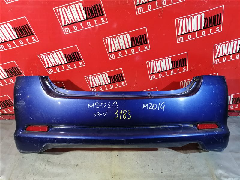 Бампер Daihatsu Yrv M201G 2000 задний синий