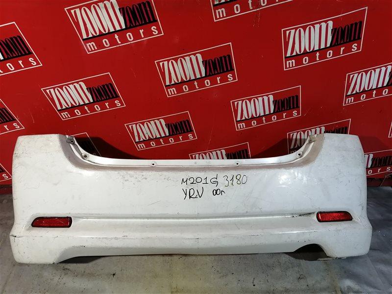 Бампер Daihatsu Yrv M201G 2000 задний белый
