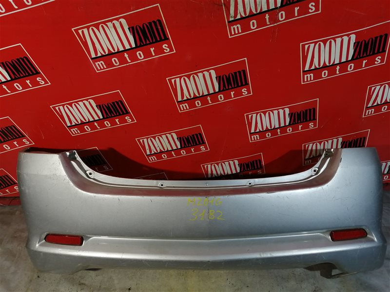 Бампер Daihatsu Yrv M201G 2000 задний серебро
