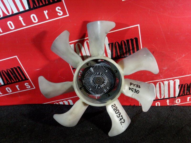 Вискомуфта вентилятора радиатора Nissan Gloria PY33 VG30E 1995