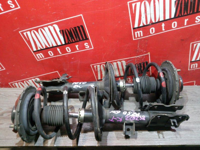 Стойка подвески Nissan Murano PZ50 VQ35DE 2004 передняя