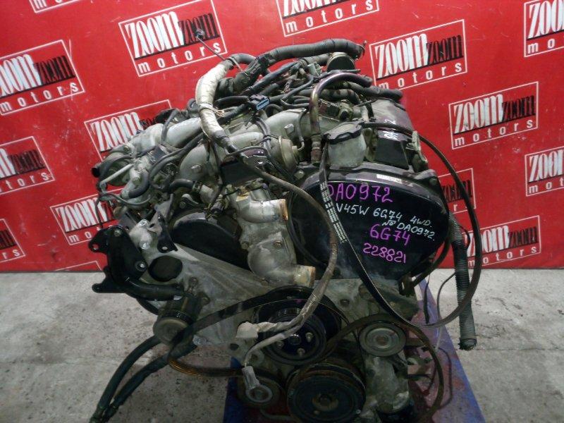 Двигатель Mitsubishi Pajero V45W 6G74 1997 DA0972