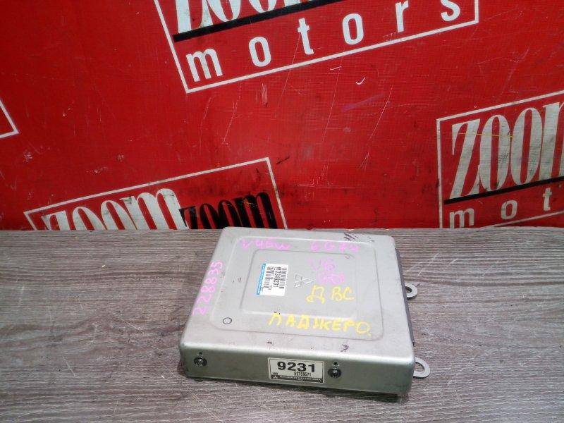 Компьютер (блок управления) Mitsubishi Pajero V45W 6G74 1997 MD349231/E2T69571HB