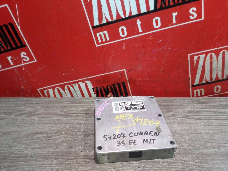 Компьютер (блок управления) Toyota Curren ST207 3S-FE 1994 89661-2D640/21000-4810