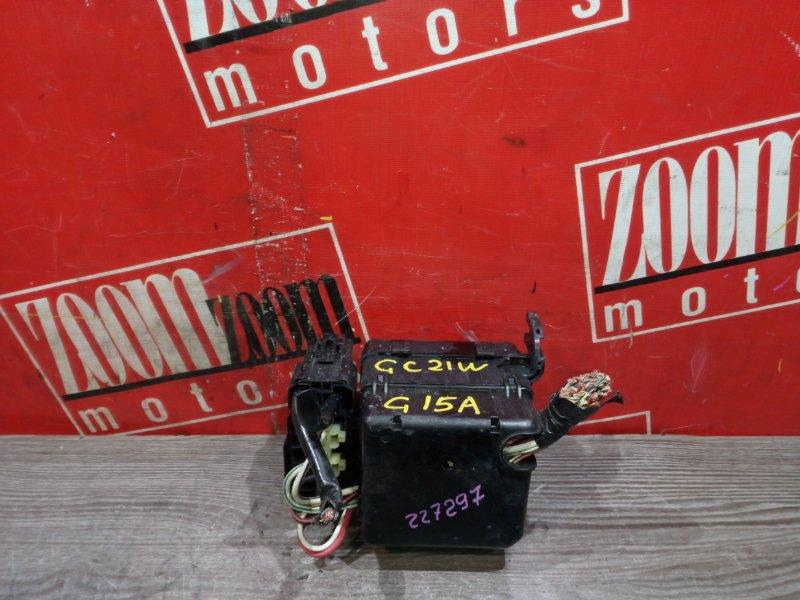 Блок реле и предохранителей Suzuki Cultus GC21W G15A 1999 передний