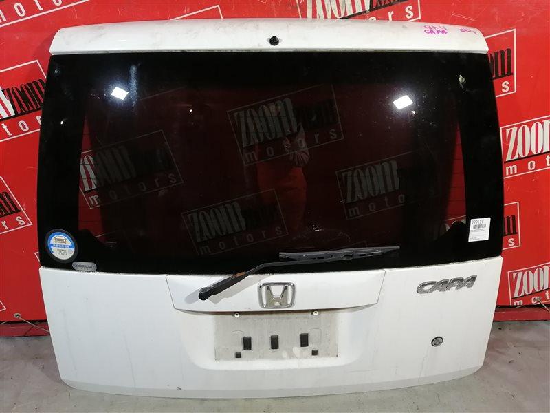 Дверь задняя багажника Honda Capa GA4 D15B 1998 задняя белый