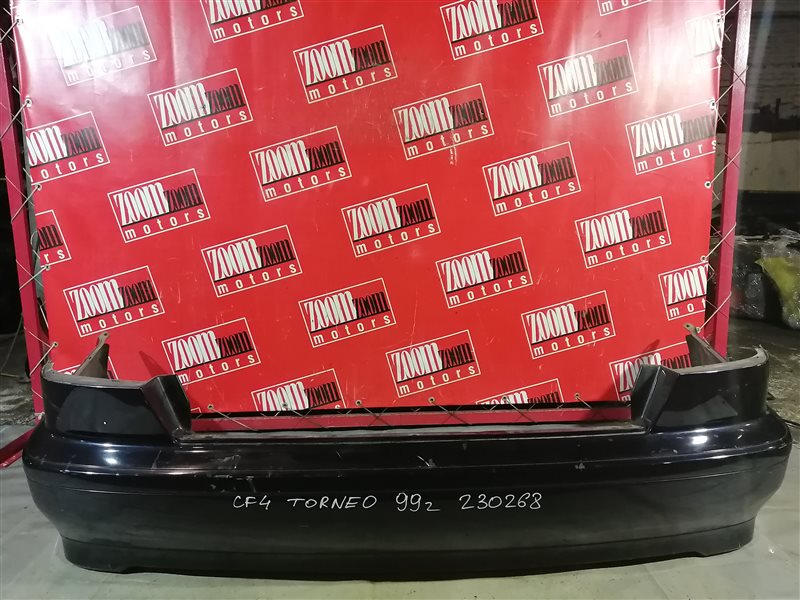 Бампер Honda Torneo CF4 F20B 1997 задний черный