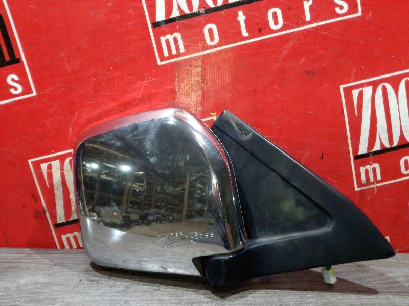 Зеркало боковое Mitsubishi Pajero V45W 6G74 1997 переднее правое хром