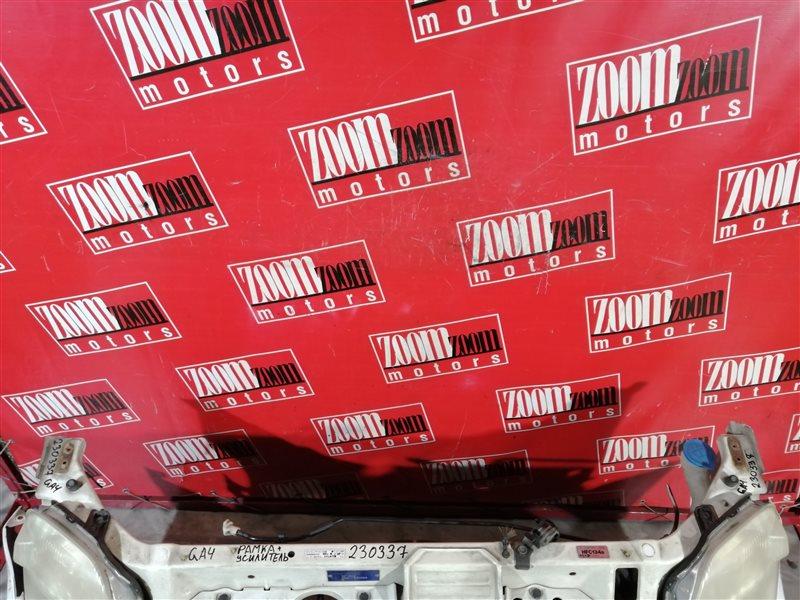 Рамка радиатора Honda Capa GA4 D15B 2000 передняя белый