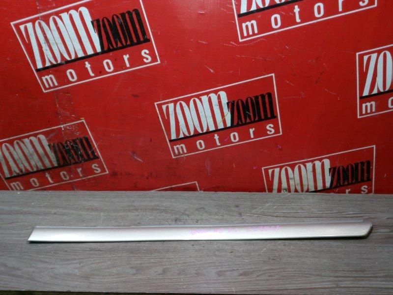 Молдинг Toyota Mark Ii GX100 1G-FE 1996 задний левый серо-золотой