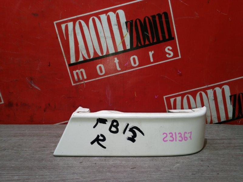 Планка под фонарь Nissan Sunny FB15 QG15DE 1999 задняя правая белый
