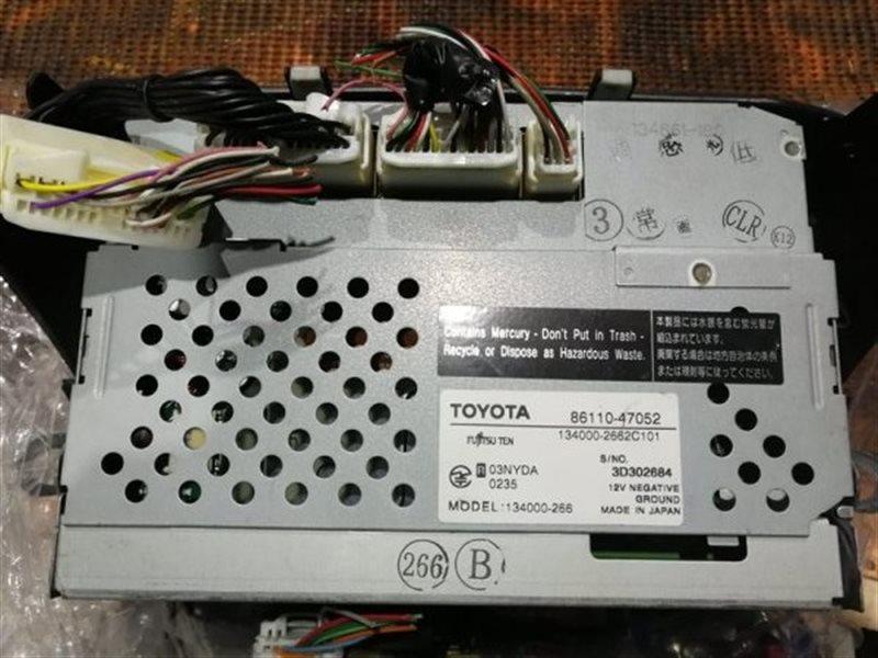 Дисплей Toyota Prius NHW20 1NZ-FXE 2003 86110-47062, 134000-2662C101