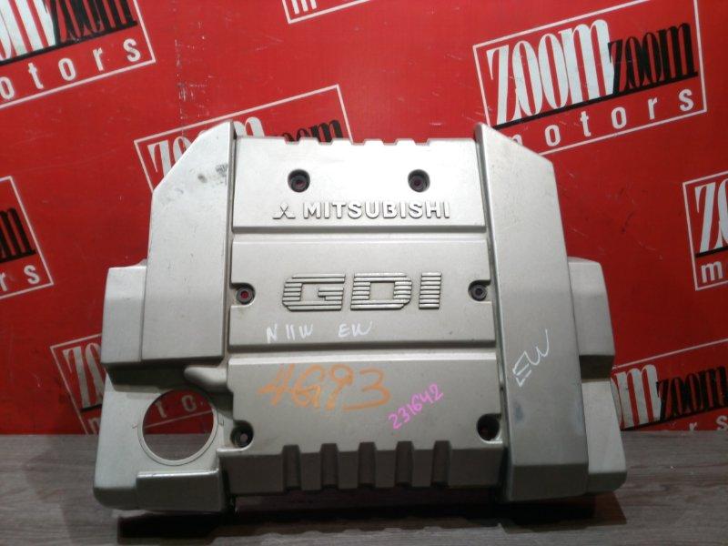 Крышка на двигатель декоративная Mitsubishi Rvr N11W 4G93 1997 передняя