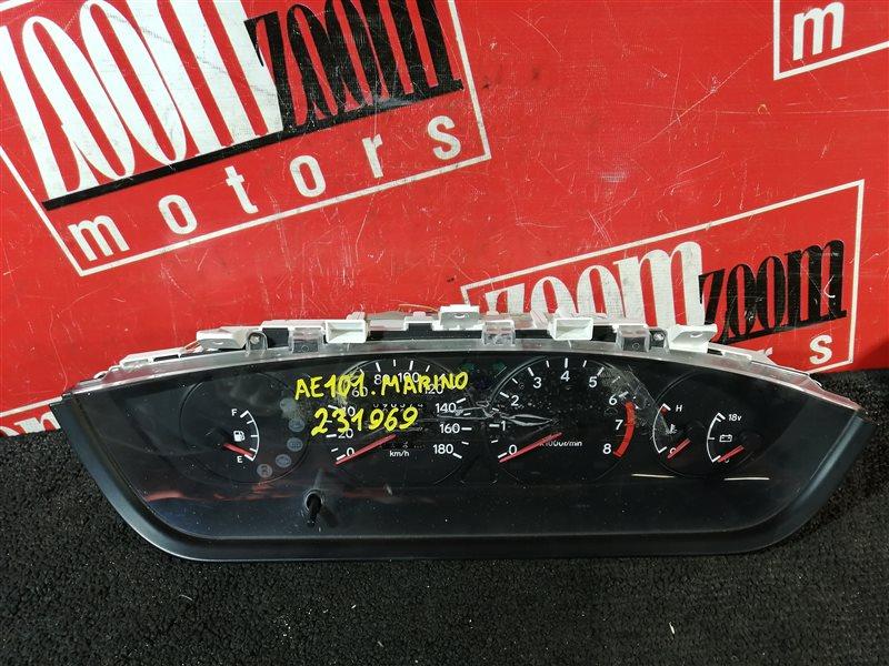 Комбинация приборов (спидометр) Toyota Sprinter Marino AE101 4A-FE 1992 83100-1E020 82127-001