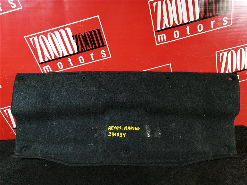 Обшивка багажника Toyota Sprinter Marino AE101 4A-FE 1992 задняя