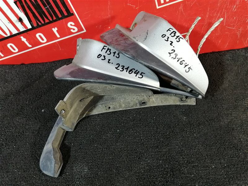Брызговик Nissan Sunny FB15 QG15DE 2003 серебро