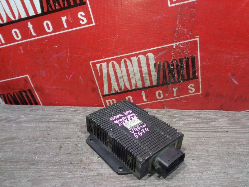 Блок управления впрыском топлива Mitsubishi Pajero V45W 6G74 1997 MD346802/E8T10871