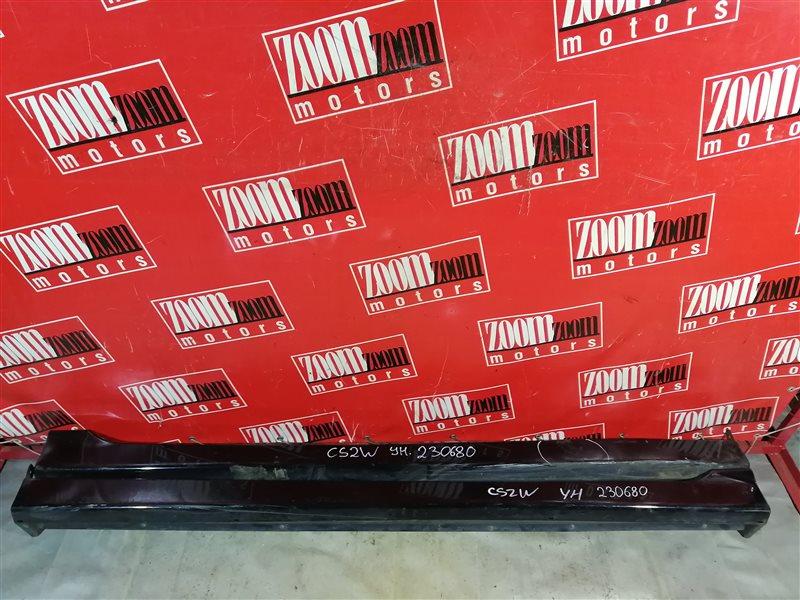 Порог Mitsubishi Lancer Cedia CS5W 4G15 2000 черный