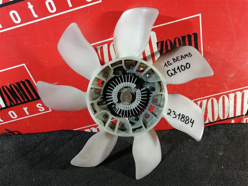 Вискомуфта вентилятора радиатора Toyota Mark Ii GX100 1G-FE 1996