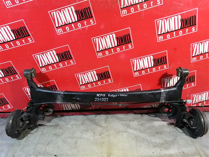 Балка поперечная Toyota Will Vi NCP19 2NZ-FE 2000 задняя