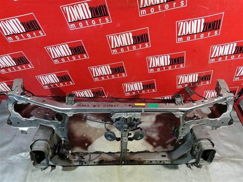 Рамка радиатора Nissan Expert W11 YD22DD передняя серебро
