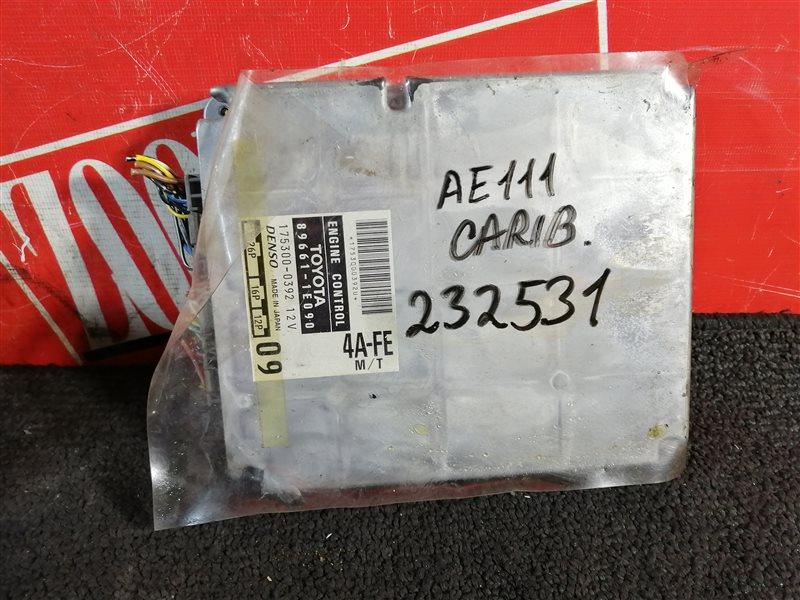 Компьютер (блок управления) Toyota Sprinter Carib AE111 4A-FE 2000 89661-1E090 211000-7400