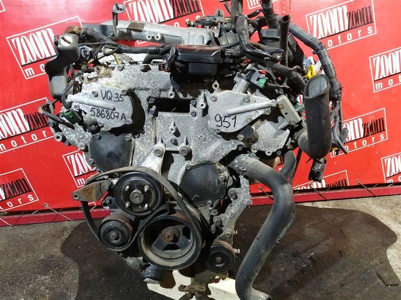 Двигатель Nissan Elgrand E51 VQ35DE 2002 586807