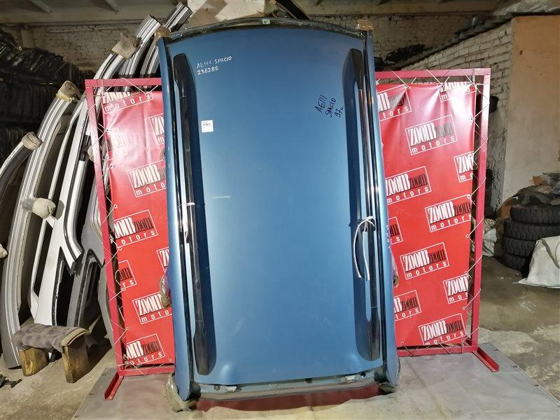 Крыша Toyota Corolla Spacio AE111 4A-FE 1997 голубой