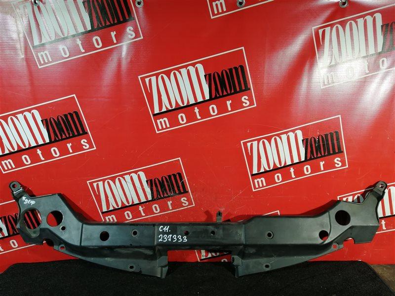 Накладка на решетку радиатора Nissan Tiida C11 HR15DE 2007 передняя