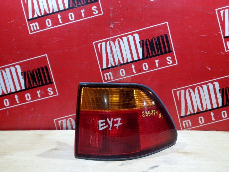 Фонарь (стоп-сигнал) Honda Partner EY7 D15B 1995 задний правый 043-2204