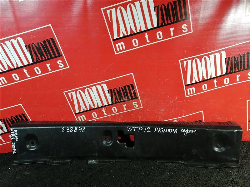 Накладка багажника Nissan Primera TP12 QR20DE 2001 задняя черный