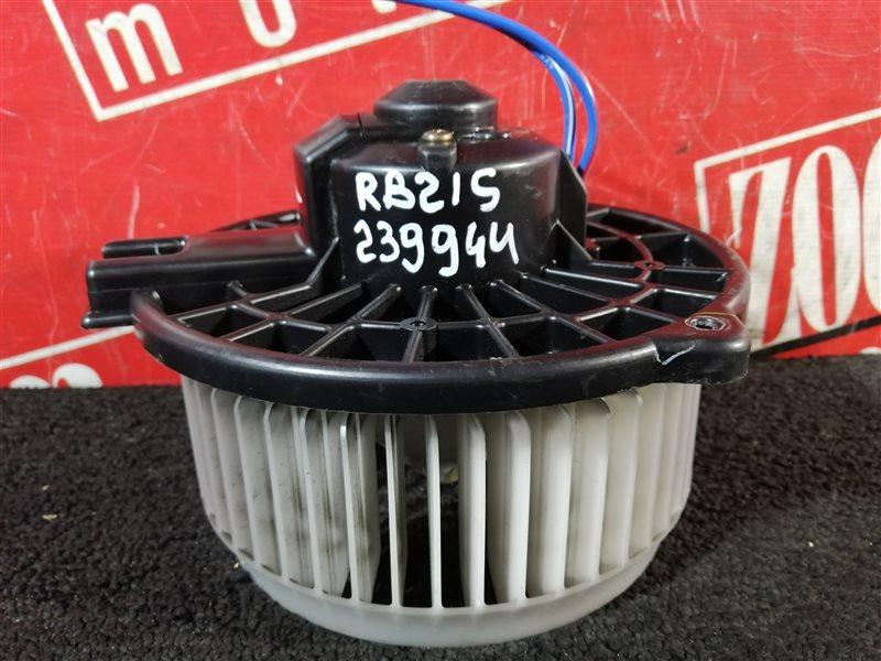 Вентилятор (мотор отопителя) Suzuki Aerio RB21S M15A 2004
