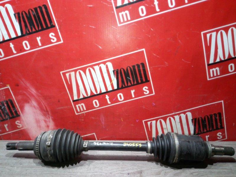 Привод Toyota Voltz ZZE136 1ZZ-FE 2002 передний левый