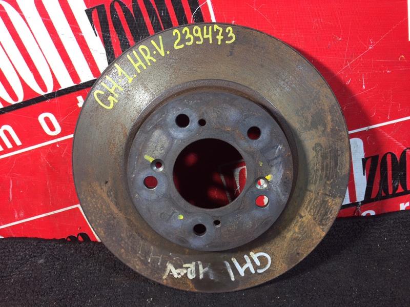 Диск тормозной Honda Hr-V GH1 D16A 1998 передний