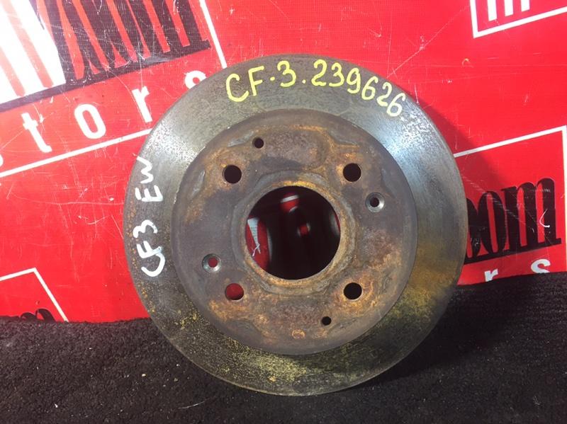 Диск тормозной Honda Torneo CF3 F18B 1997 задний