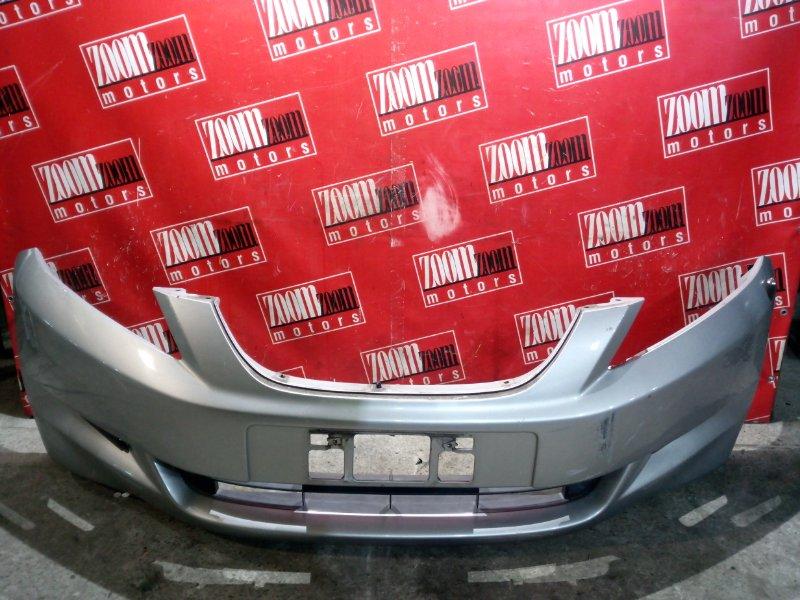 Бампер Honda Edix BE1 D17A 2004 передний серебро