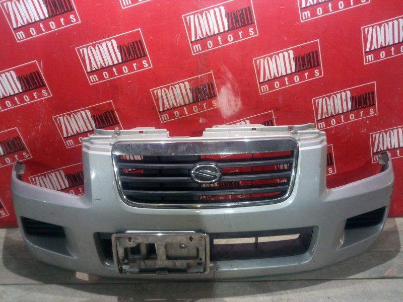 Бампер Suzuki Wagon R Solio MA34S K10A 2000 передний серебро