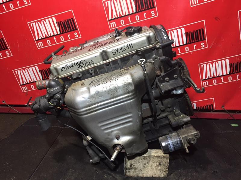 Двигатель Mitsubishi Chariot N33W 4G63 1996 SX1618