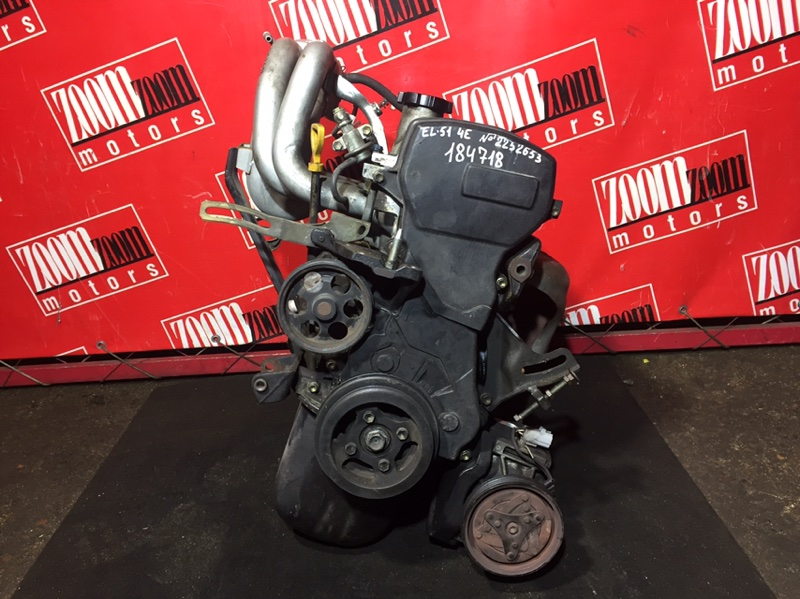 Двигатель Toyota Tercel/corsa EL51 4E-FE 2252653