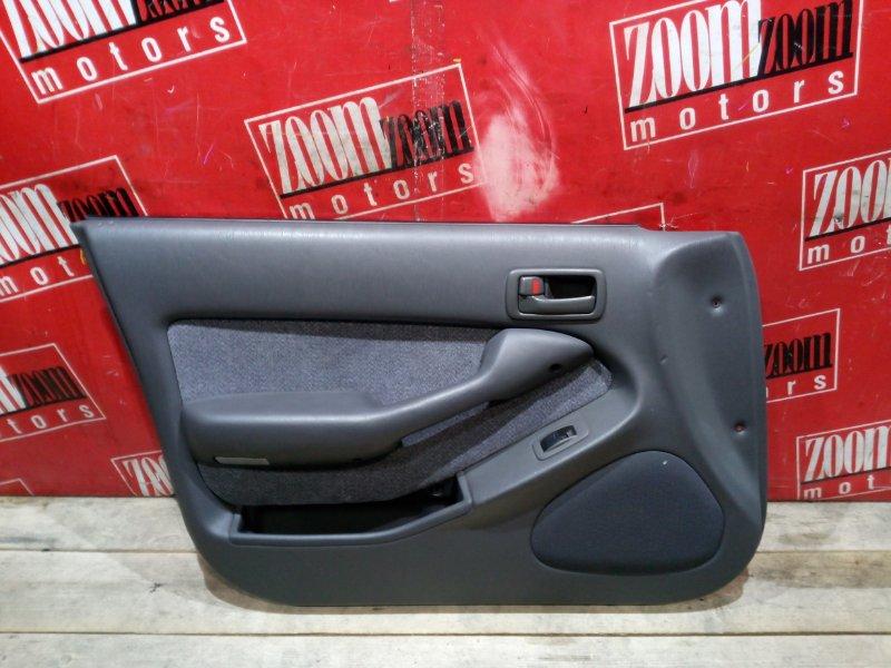 Обшивка двери Toyota Camry SV33 3S-FE 1990 серый