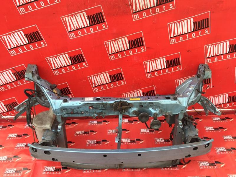 Рамка для номера Toyota Ist NCP60 1NZ-FE 2002 голубой