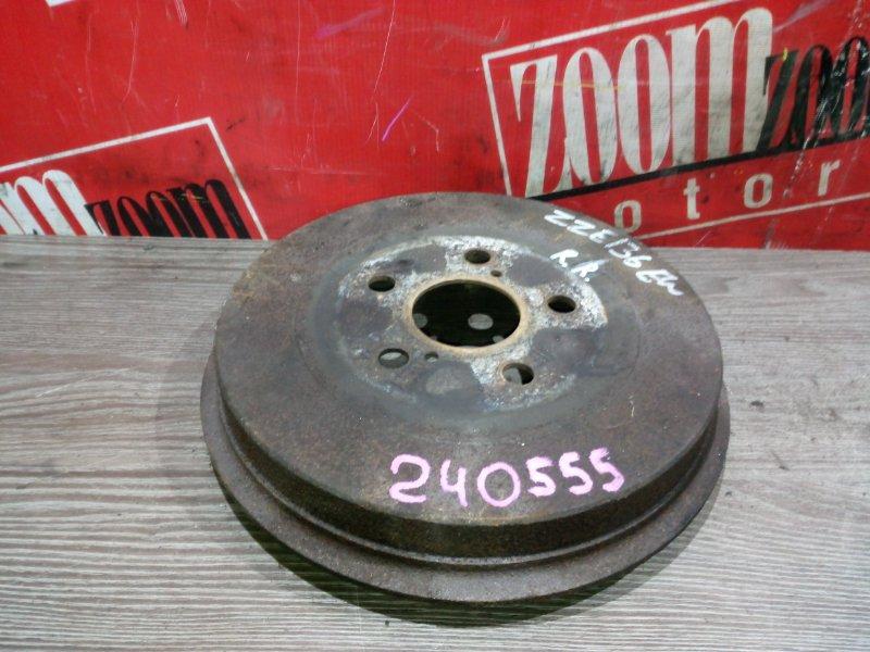 Барабан тормозной Toyota Voltz ZZE136 1ZZ-FE 2002 задний