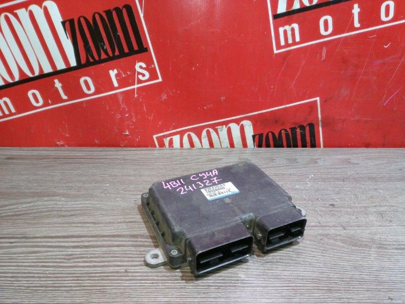 Компьютер (блок управления) Mitsubishi Lancer X CY4A 4B11 2006 E6T71577H1