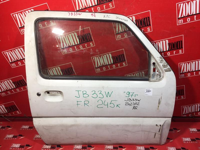 Дверь боковая Suzuki Jimny Wide JB33W передняя правая белый
