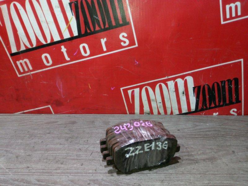 Колодки тормозные Toyota Voltz ZZE136 1ZZ-FE 2002 передние