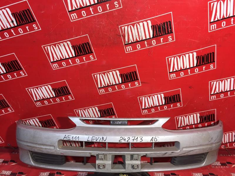 Бампер Toyota Corolla Levin AE111 4A-FE 1995 передний серебро