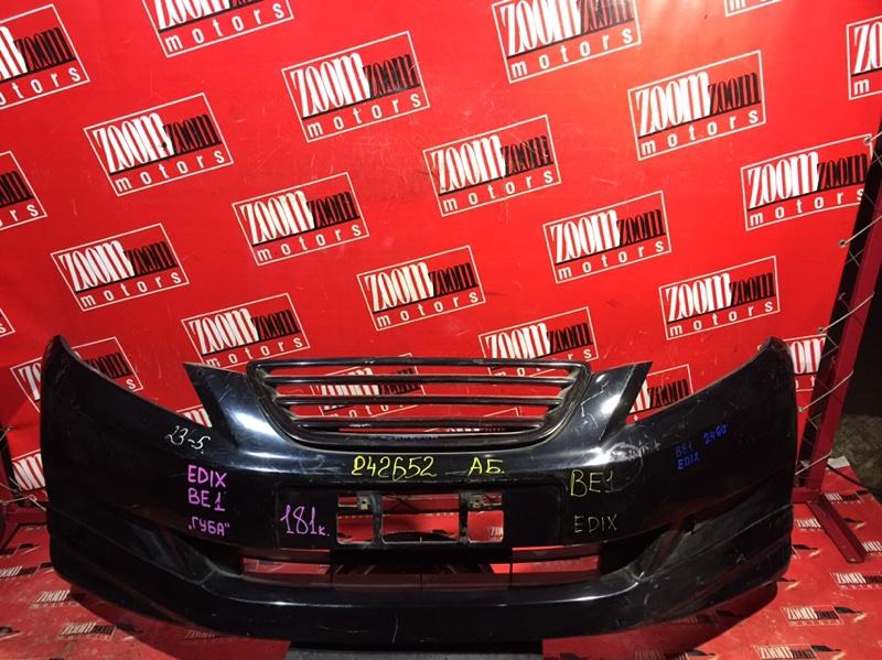 Бампер Honda Edix BE1 D17A 2004 передний черный