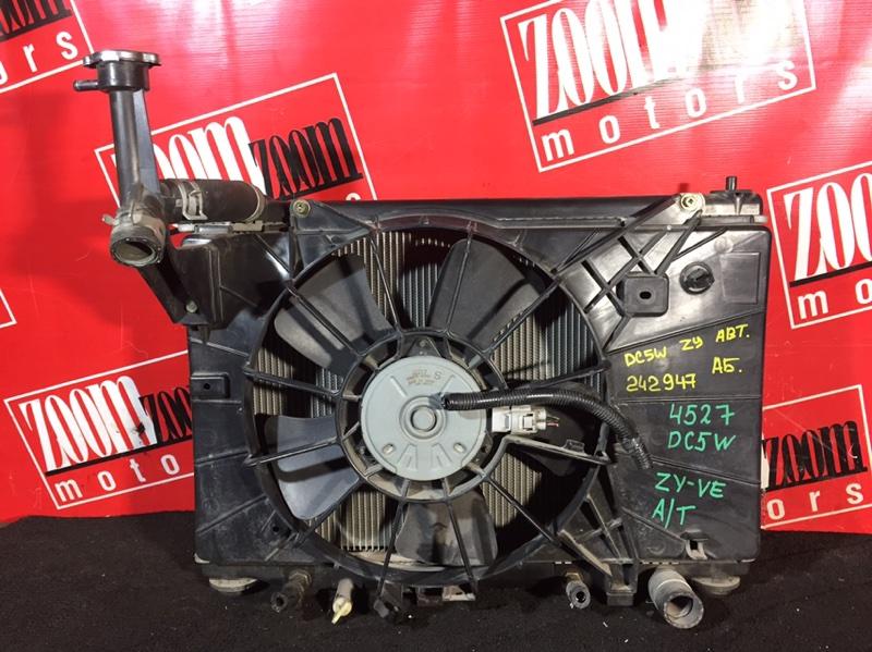 Радиатор двигателя Mazda Verisa DC5W ZY-VE 2004 передний