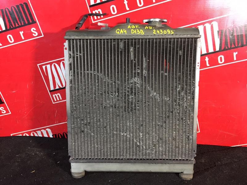 Радиатор двигателя Honda Capa GA4 D13B 1998 передний